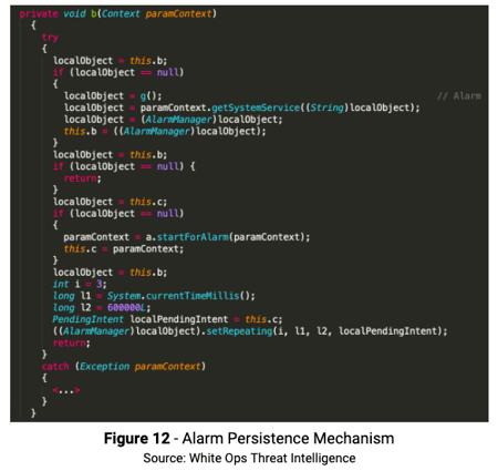 Figure 12 Alarm Persistence Mech