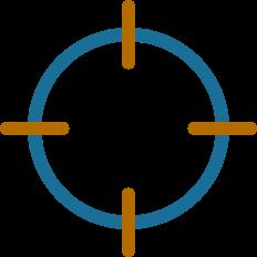 reticle icon for dark